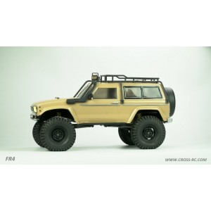 Cross RC FR4A 1/10 Demon 4x4 Crawler Kit-Lexan SUV Body, Basic Version
