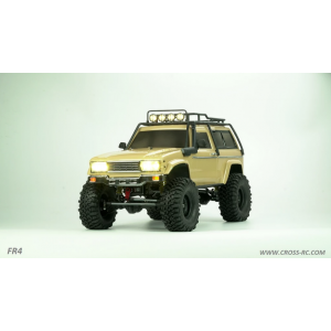 Cross RC FR4B 1/10 Demon 4x4 Crawler Kit-Lexan SUV Body Steel Rims