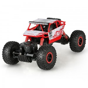 HB666 Toys 2.4GHz 4WD 1/18 Scale 4x4 Rock Crawler Off-road Vehicle RTR HB-P1801 - Red