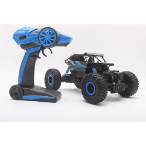 HB666 Toys 2.4GHz 4WD 1/18 Scale 4x4 Rock Crawler Off-road Vehicle RTR HB-P1801 - Blue