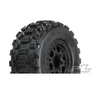 "Proline Badlands MX SC 2.2""/3.0"" M2 (Medium) Tires Mounted"