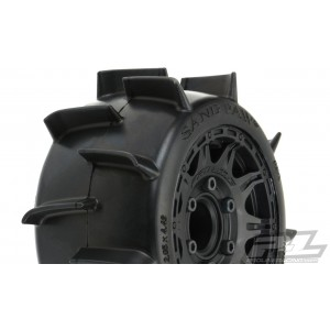 """Proline Sand Paw LP 2.8"""" Sand Tires Mounted"""