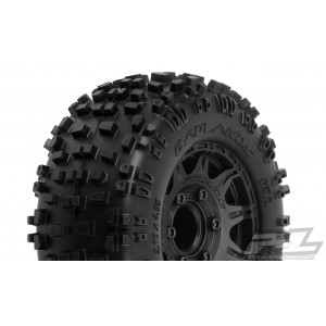 "Proline Badlands 2.8"" All Terrain Tires Mounted"