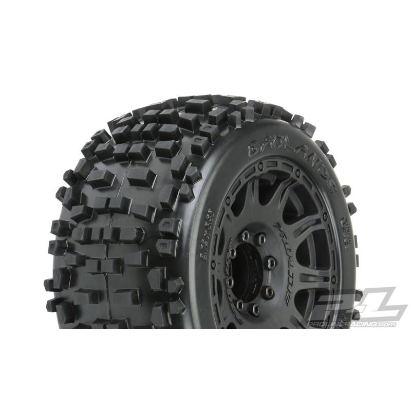 "Proline Badlands 3.8"" All Terrain Tires Mounted"
