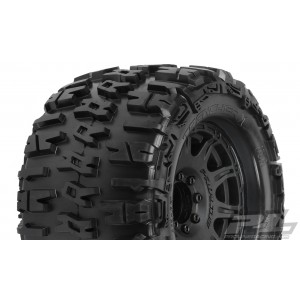 """Proline Trencher X 3.8"""" All Terrain Tires Mounted"""