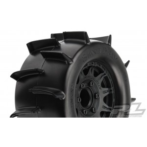 """Proline Sand Paw 2.8"""" Sand Tires Mounted"""