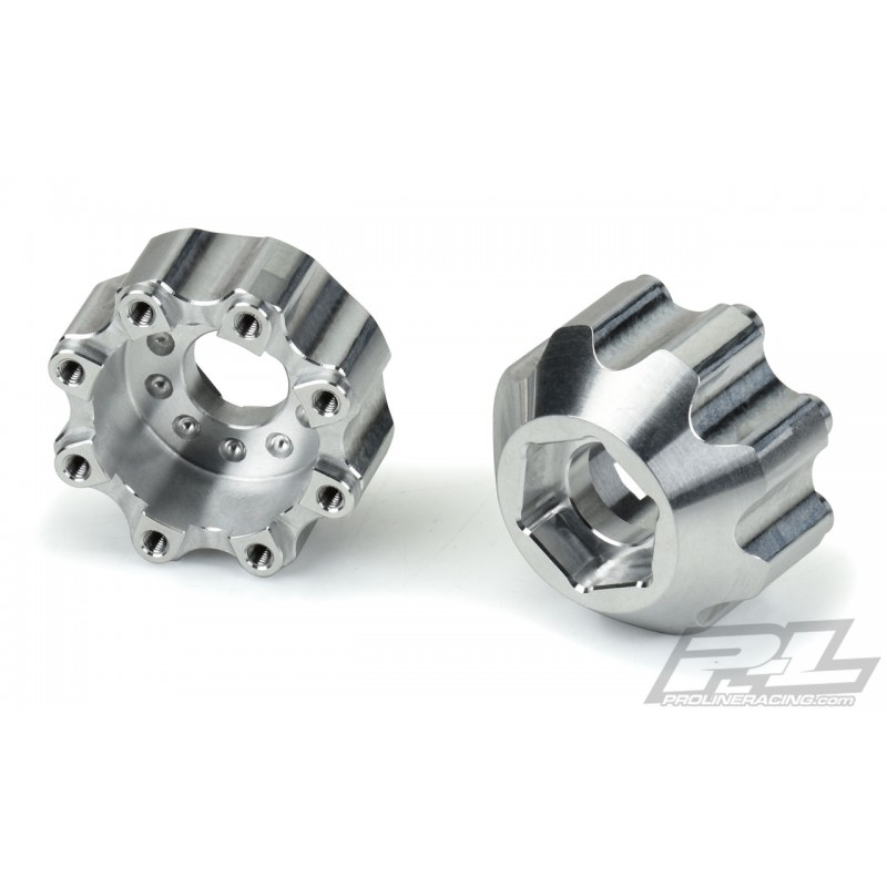 """Proline 8x32 to 17mm 1/2"""" Offset Aluminum Hex Adapters"""