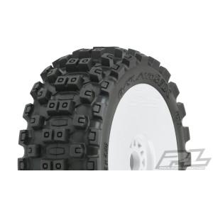 Proline Badlands MX M2 (Medium) All Terrain 1:8 Buggy Tires Mounted
