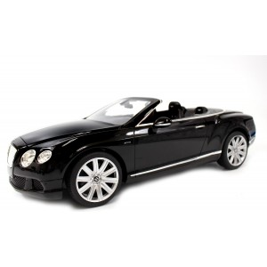 Rastar 1:12 RC Bentley Continental GT Convertible (Black)