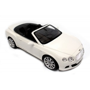 Rastar 1:12 RC Bentley Continental GT Convertible (White)