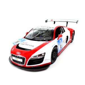 Rastar 1:14 RC Audi R8 LMS Performance Model With LED Lights (Red)
