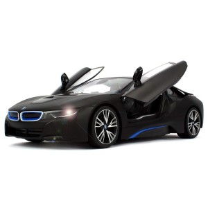 Rastar 1:14 RC BMW I8 Authentic W/Open Doors RC Car Black