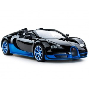 Rastar 1:14 RC Bugatti Veyron Grand Sport Vitesse Car (Black/Blue)