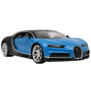 Rastar 1:14 RC Bugatti Chiron Sports Car (Blue)
