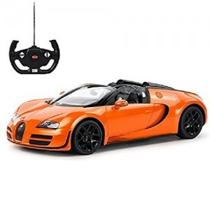 Rastar 1:14 RC Bugatti Veyron Grand Sport Vitesse Car (Orange)
