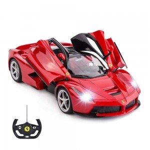 Rastar 1:14 RC Ferrari LaFerrari Car (Red)