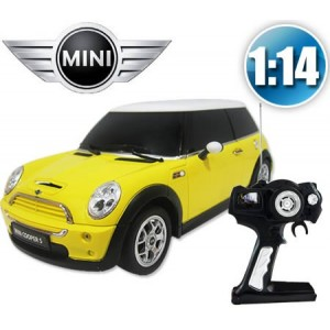 Rastar 1:14 RC Minicooper (Yellow)
