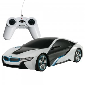 Rastar 1:24 RC BMW I8 Concept RC Sports Car (White)