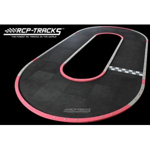 RCP Tracks 30CM Double Oval Wide - SETR-C13108-01 - Mini-Z Track