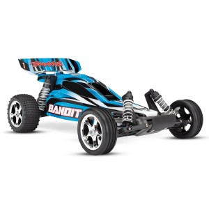 Traxxas Bandit 1/10 Scale 2WD Electric Buggy With TQ 2.4GHz Radio