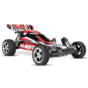 Traxxas Bandit 1/10 Scale 2WD Electric Buggy With TQ 2.4GHz Radio Battery/Charger